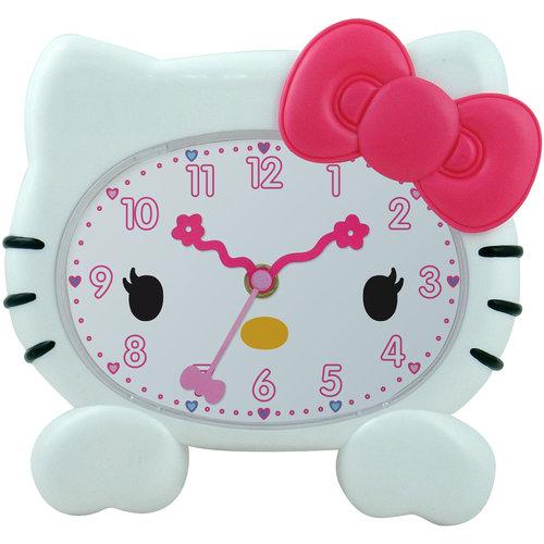"""Hello Kitty 8"""" Molded Wall Clock"""