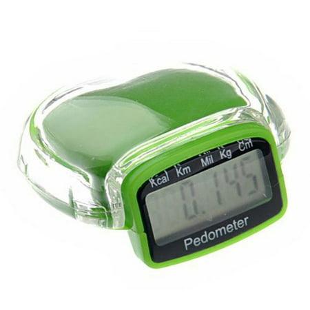 AkoaDa Digital Pedometer Walking Step Run Distance Calorie Counter Fitness Belt Clip ()