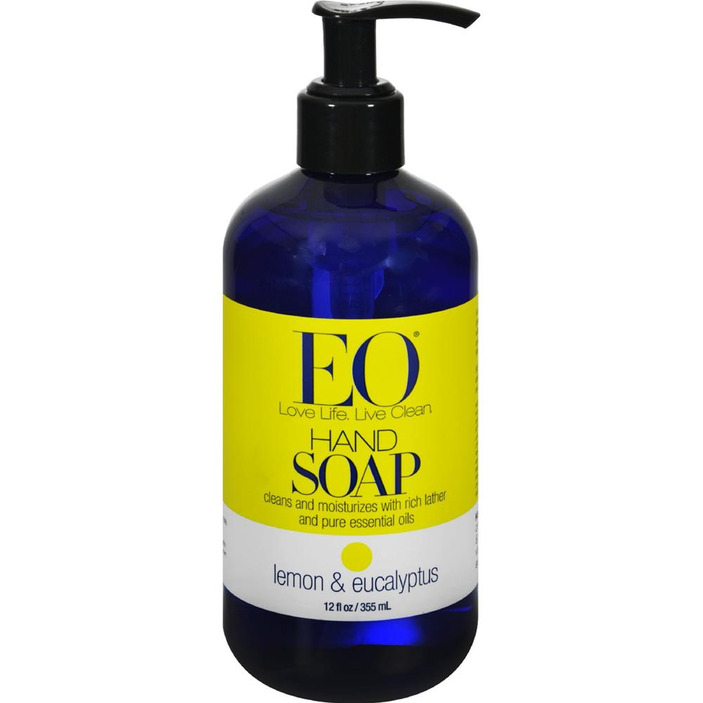 Lemon And Eucalyptus Liquid Hand Soap