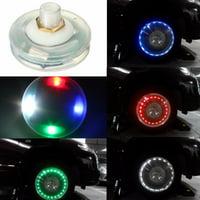 13 Mode Solar Energy LED Car Auto Flash Wheel Tire Valve Cap Neon Light Lamp