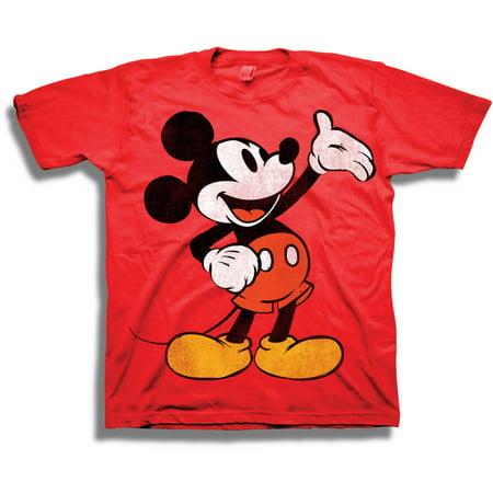 d5b2f47c Disney - Mickey Mouse Boys' Short Sleeve T-Shirt - Walmart.com