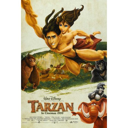 Tarzan POSTER Movie G (27x40) - Tarzan Halloween