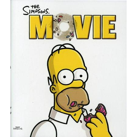 The Simpsons Movie  Blu Ray