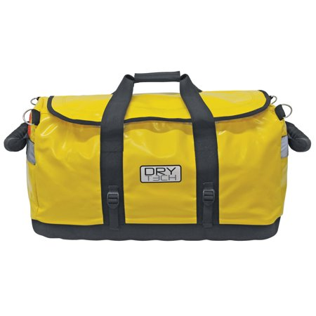 Extreme Max 3006.7354 Dry Tech Water-Repellent Duffel Bag - 26 Liter, Yellow River Dry Duffel
