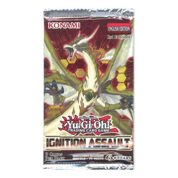 yugioh cards  ignition assault  booster pack 9 cards