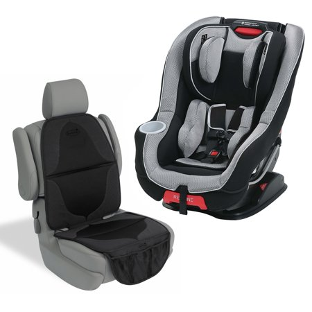 graco size4me 65 convertible featuring rapid remove car seat with seat mat matrix. Black Bedroom Furniture Sets. Home Design Ideas