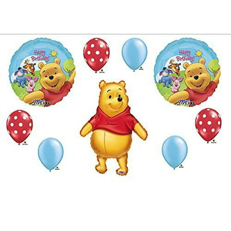 Winnie The Pooh Birthday Party Balloons Decorations Supplies by Balloon Emporium - Winnie The Pooh Party