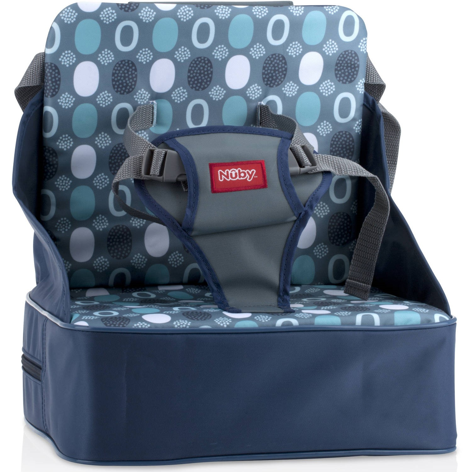 Nuby Fabric Booster Sea, Blue