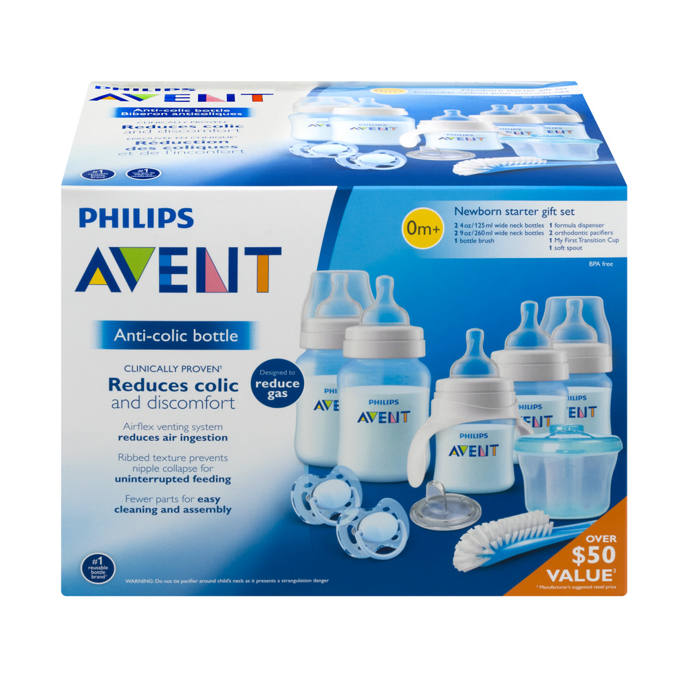 Philips Avent Newborn Starter Gift Set, 1.0 KIT