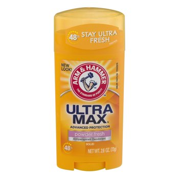 Arm & Hammer Ultramax Antiperspirant Deodorant Powder 2.6 oz.