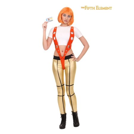 The Fifth Element Halloween Costumes Leeloo (5th Element Leeloo Orange Harness)