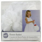 Wilton Gardenia Wedding Flower Basket 120-1050