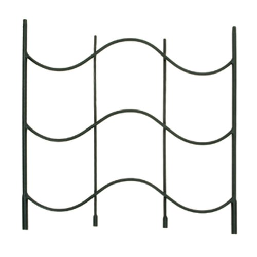 Achla Waves Iron Gothic Trellis Extension by Minuteman International