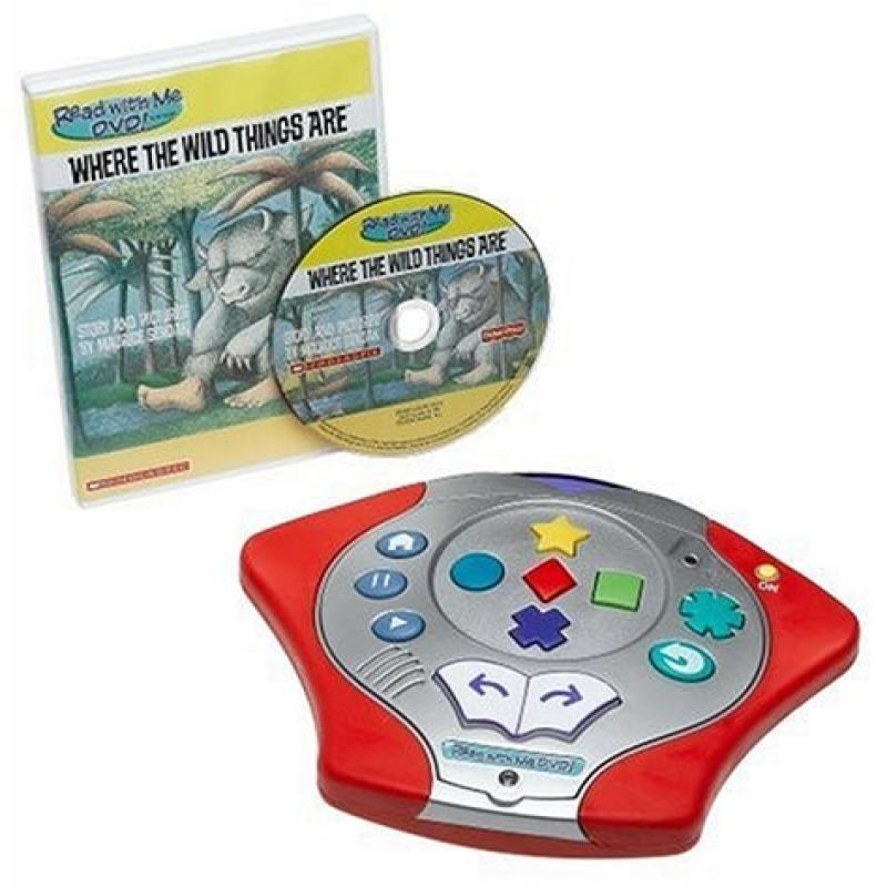 "Fisher Price Read With Me DVD System with ""Where The Wild..."