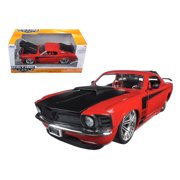 1970 Ford Mustang Boss 429 Red 1/24 Diecast Model Car by Jada