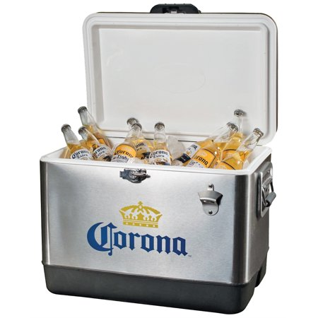 - Corona Stainless Steel Ice Chest, 54-Quart