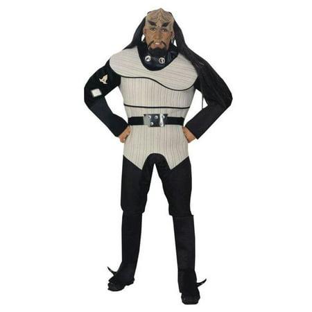 Costumes For All Occasions Ru889068 Klingon Deluxe Costume Std - Klingon Costume