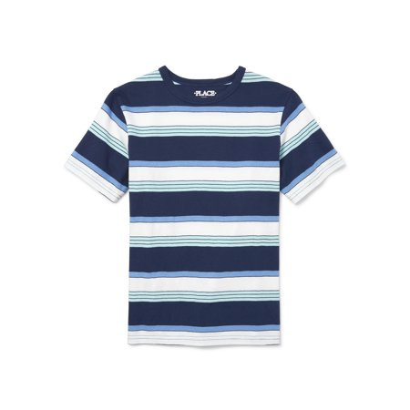 Oh Boy Stripes - The Children's Place Short Sleeve Striped T-Shirt (Big Boys)
