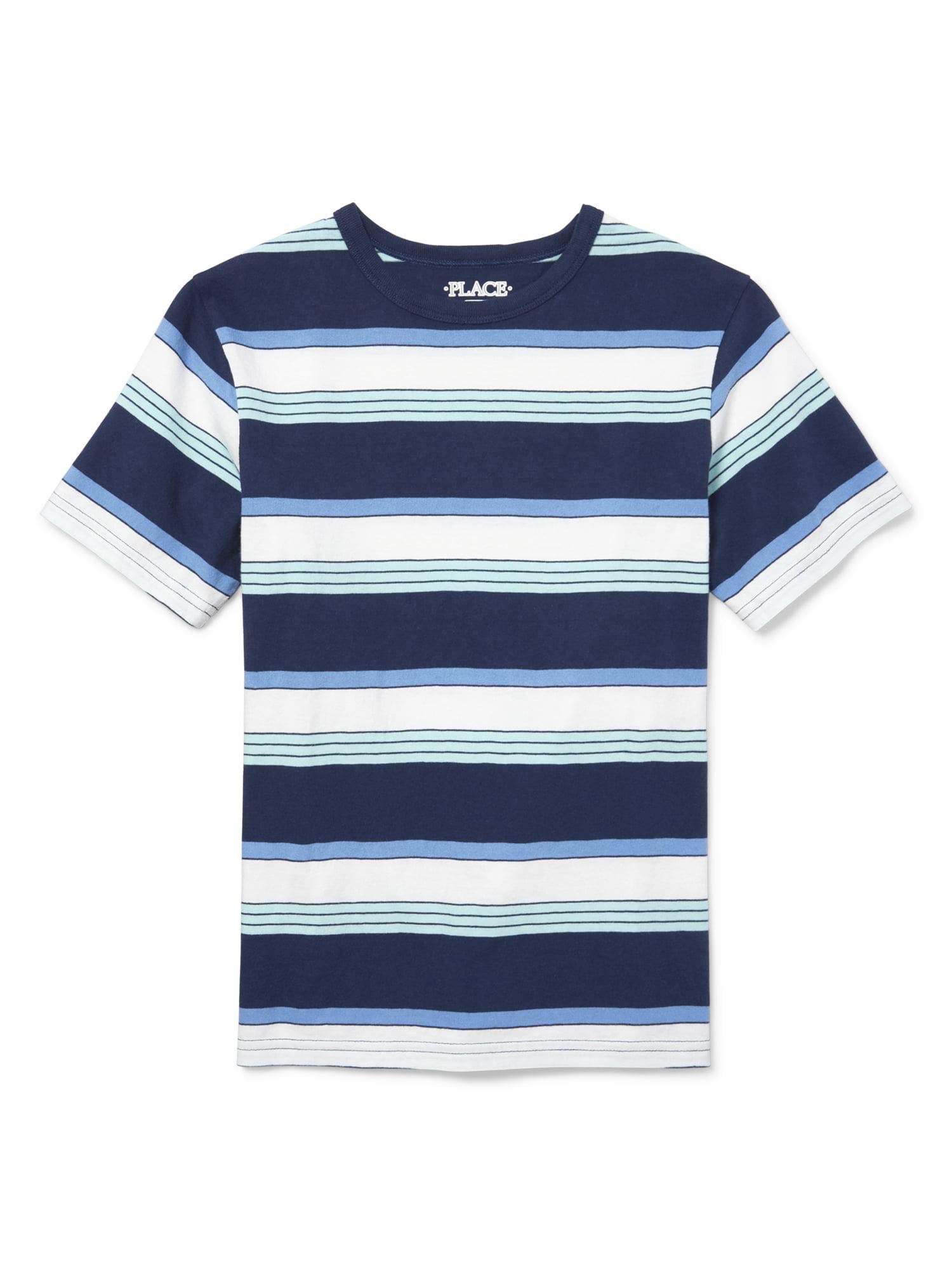 Short Sleeve Striped T-Shirt (Big Boys)