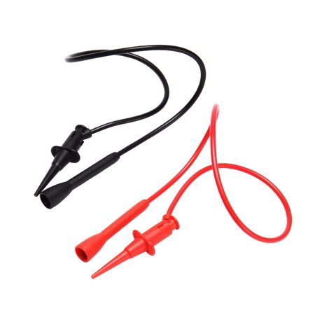 Digital Multimeter Cat - 1 Pair 1.7 ft 300V 3A CAT II Testing Clip Digital Multimeter Test Leads Cord