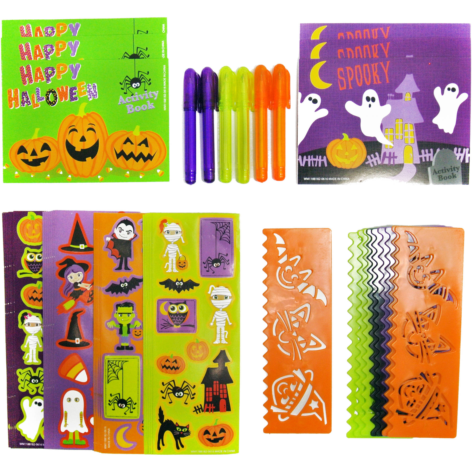 50 Halloween Stationery Favors