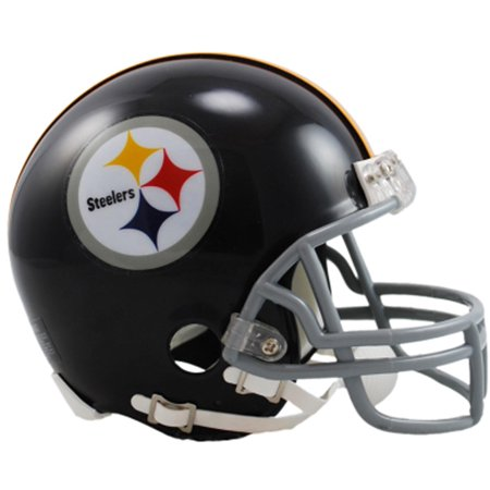 Riddell Pittsburgh Steelers Throwback 1963-1976 VSR4 Mini Football Helmet
