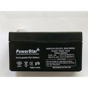 PowerStar AGM1213-13 12V 1.3Ah Battery for CASIL CA1212, TEMPEST TR1.3-12 1