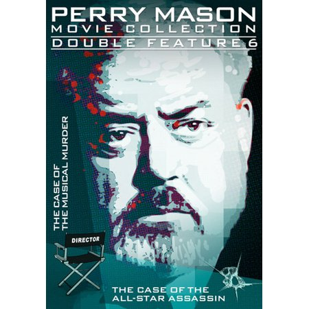 Perry Mason Double Feature  The Case Of The Musical Murder   The Case Of The All Star Assassin  Full Frame