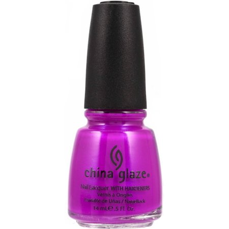 4 Pack - China Glaze Nail Polish, Purple Panic, 0.5