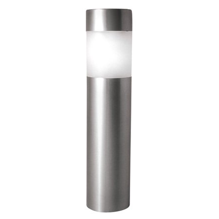 Paradise Lighting Solar 1.2-Lumen Stainless Steel Bollard Light, 4pk