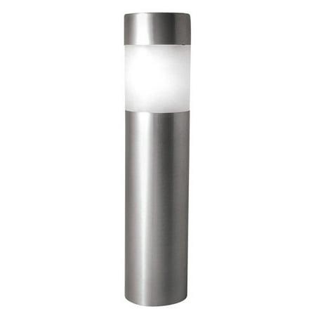 Paradise Lighting Solar 1.2-Lumen Stainless Steel Bollard Light, 4pk