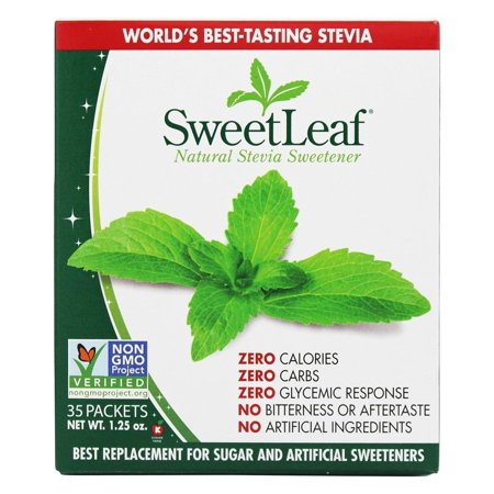 SweetLeaf Stevia Sweetener, 100% Natural