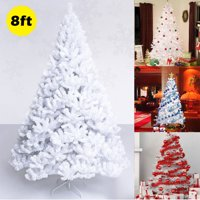 product image costway 5ft6ft7ft8ft artificial pvc chrismas tree wstand holiday