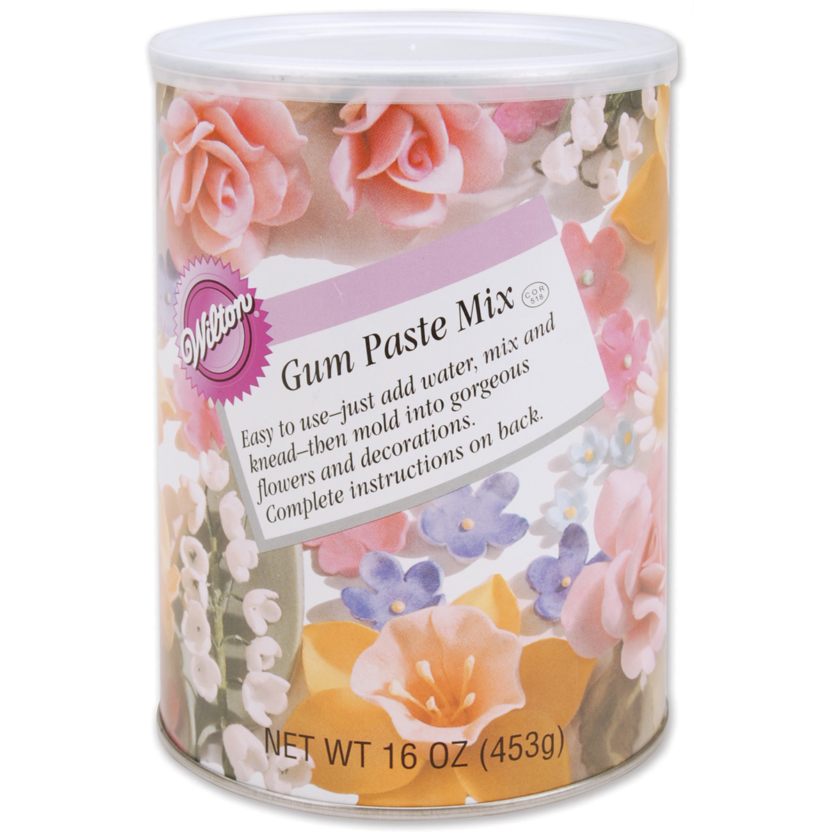 Wilton Gum Paste Mix, 16 oz. 707-124