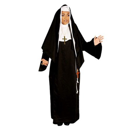 Womens Deluxe Mother Superior Nun Costume (Mother Daughter Costumes)