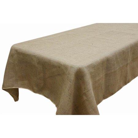 Balsacircle 90x156 Quot Burlap Rectangle Tablecloth Natural