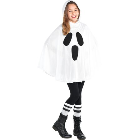 Easy Hallowen Costumes (Ghost Poncho for Children, Makes an Easy Costume, With an Attached)