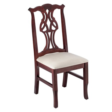 Solid Mahogany Chippendale Claw (Chippendale Side Chair in)