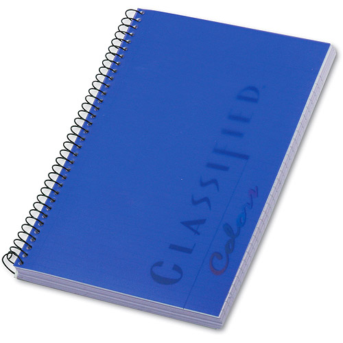 TOPS Classified Colors Notebook, Narrow Rule, 5-1/2 x 8-1/2, Orchid, 100 Sheets