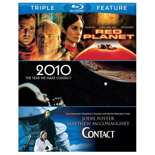Red Planet / 2010: The Year We Make Contact / Contact (Blu-ray)