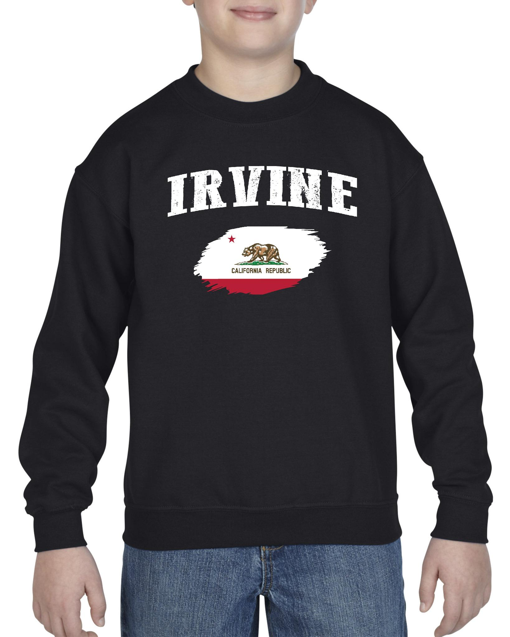Irvine California Youth Crewneck Sweatshirt