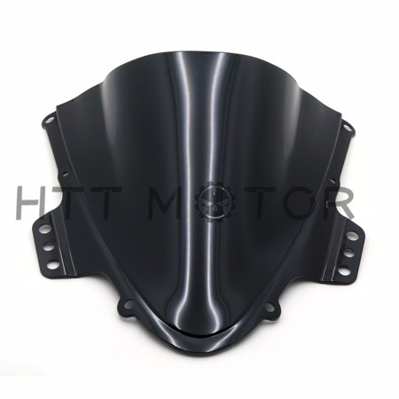HTTMT- 2005-2006 SUZUKI GSXR1000 GSXR1000 K5 SMOKE WINDSHIELD WINDSCREEN DOUBLE BUBBLE