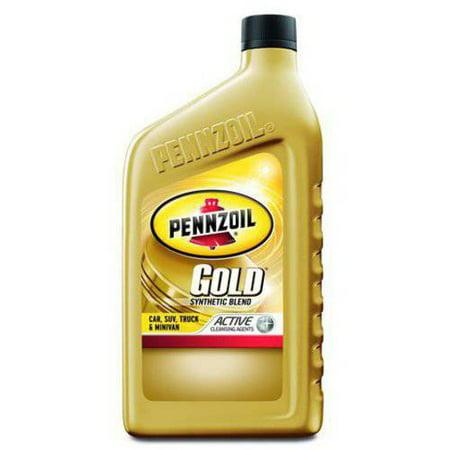Pennzoil Gold 5w30 Synthetic Blend Dexos 5w30 Motor Oil 1