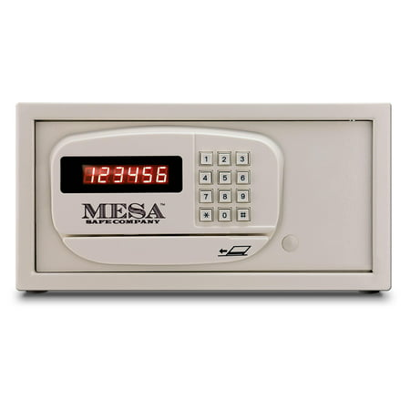 MESA MH101E WHT KA Hotel Safe in White with Electronic Lock