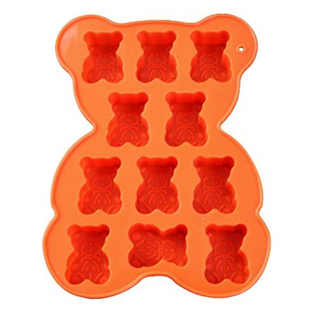 AkoaDa Gummy Bear Candy Molds Silicone - Chocolate Gummy Molds Nonstick Best Food Grade