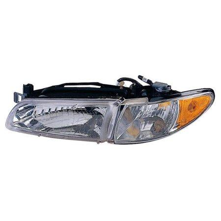 New Left Headlight with Corner light & Bracket Fits 97-03 Pontiac Grand (Grand Prix 2009)