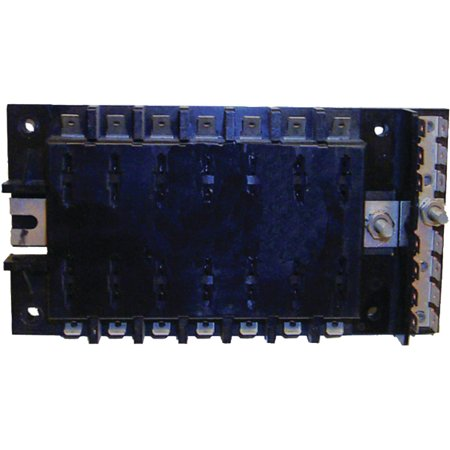 Gang Fuse Panel - Sierra FS40440 14 Gang ATO/ATC Fuse Block with Ground Bar