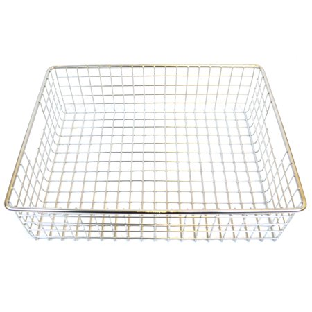 Steel Mesh Basket (Stainless Steel Square Mesh Basket - 14