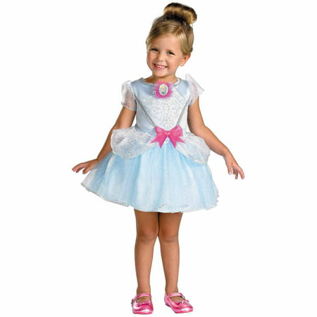 Girls Cinderella Ballerina Fairytale Halloween Costume - Girls Cinderella Halloween Costume