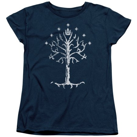 Old Navy Womens Shirt Top (Lor/Tree Of Gondor   S/S Women's Tee   Navy     Lor3014 )